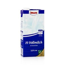H-Milch, Vollmilch 3,5%, 1 l